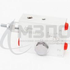 Клапан тормозной односторонний КТ-020.00.00-01