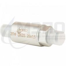 Поворотный  фитинг с переборочной гайкой 2ПФ DKOS 20х1,5/DKOS 20х1,5