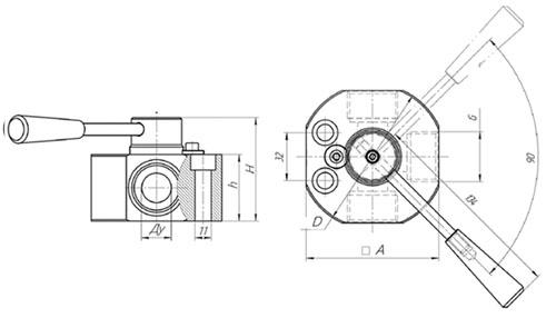 Кран трехходовый (дивертр) - фото 00-00-00%D1%85%D0%BE%D0%B4.jpg